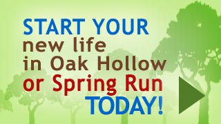 Start your new life in Oak Hollow today!